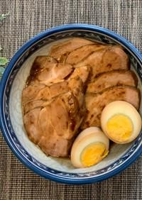 アイラップで柔らか本格煮豚!