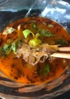 高菜そぼろ春雨の辛〜いスープ
