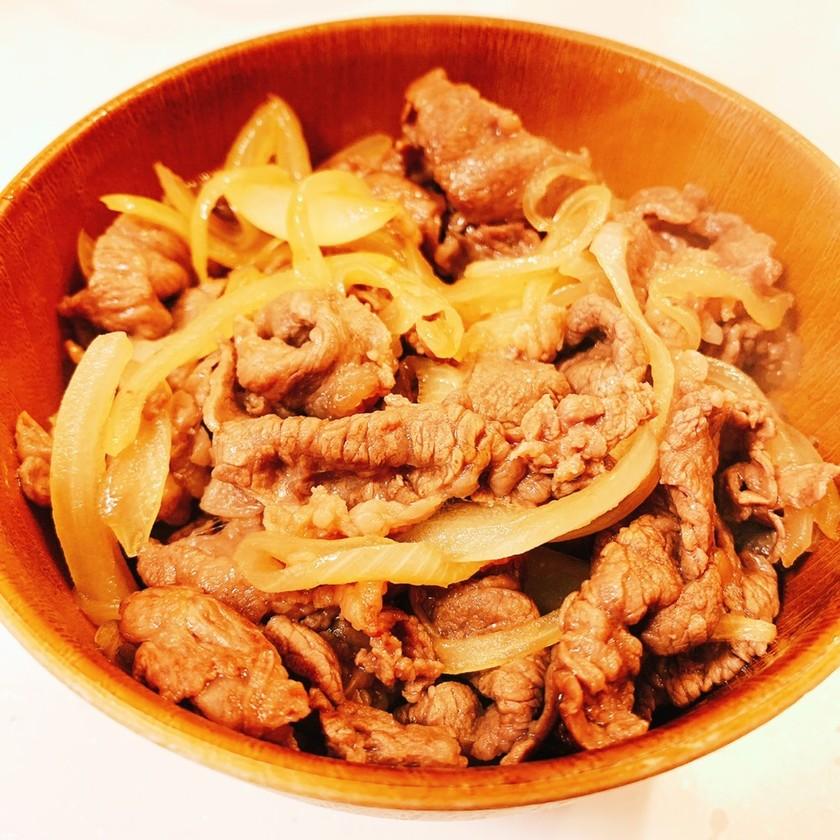 簡単♡吉野家風!基本の牛丼の作り方