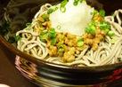 ✿納豆おろしそば✿