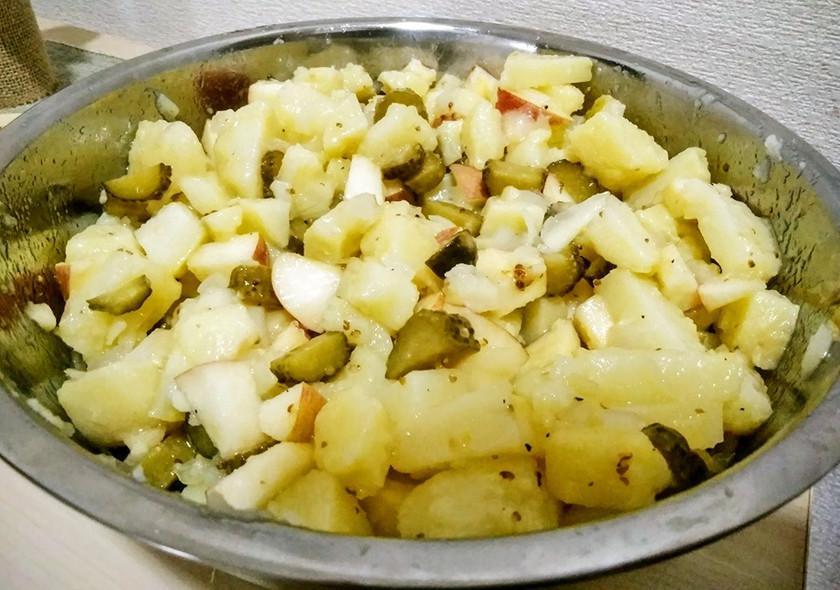 ドイツのポテトサラダ