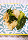 簡単♫豚バラ肉と小松菜の中華炒め