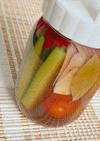 簡単!ハスカップ酢で作るピクルス