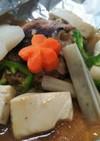 お野菜たっぷりホイル焼きハンバーグ