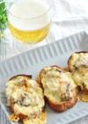 バケットと鯖缶でサバ味噌チーズトースト