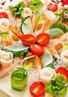 プチプチフラワーサラダのオードブル
