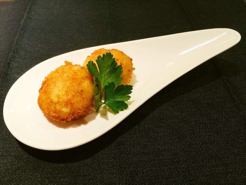 【野菜ソムリエ】京たけのこのチーズボール