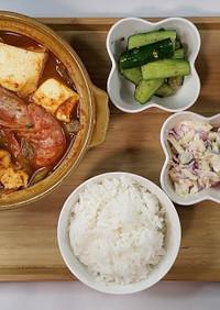 スンドゥブチゲレシピ 「韓国料理レシピ」