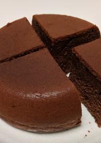 炊飯器でお豆腐チョコレートケーキ!