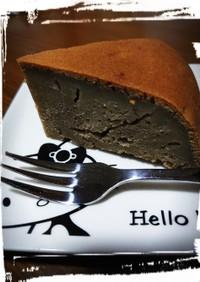 べにふうき茶&こしあんの炊飯器ケーキ