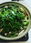 簡単 せり鍋 ヒガシマルよせ鍋つゆ使用