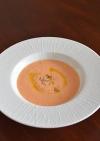 意外な隠し味で!人参ジュースで濃厚スープ