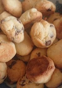 強力粉の消費におすすめ。サクサククッキー