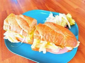 パリジャンサンド☆簡単☆サンドイッチ