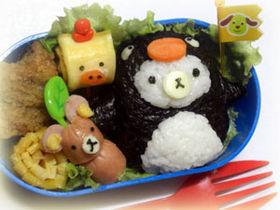 キャラ弁♪ペンギン☆コリラックマ