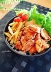 簡単節約☆鶏胸肉の揚げない唐揚げ。