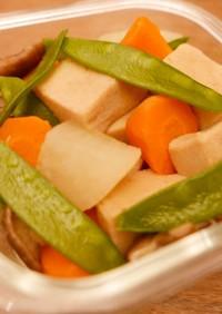 作り置き!高野豆腐の含め煮