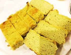 おからとブロッコリーのダイエットケーキ