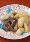 いりこと生麩・根菜の煮物