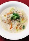 もやしの食べる豆乳スープ☆とんこつ風味