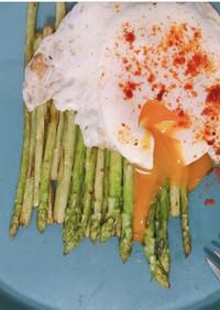 アスパラと卵でオシャレなモーニング