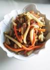 菊芋のきんぴら(血糖値改善食品)
