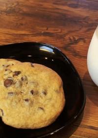 型不要簡単しっとりチョコチップクッキー