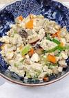鶏挽肉入りいり豆腐