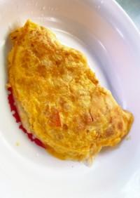 【離乳食後期〜】チーズオムレツ