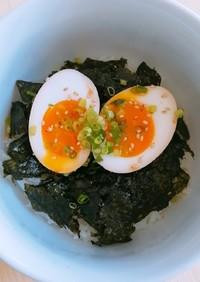 韓国風*半熟煮卵丼(味玉)