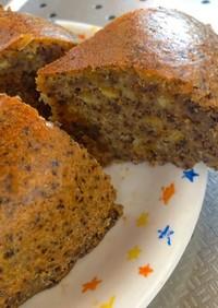 紅茶とオレンジピールの炊飯器ケーキ