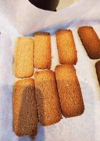 こし餡とおからの和風クッキー