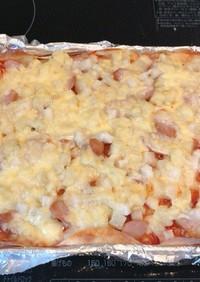 ボリュームUP!餃子の皮でクリスピーピザ