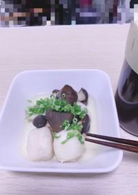 シンプルに☆霜降りひらたけと里芋の煮物