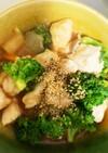 全てレンジ胸肉根菜ヤンニョムチキン風蒸煮