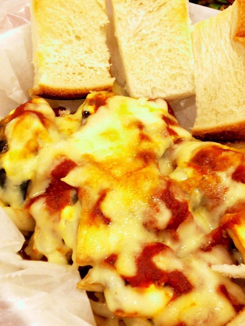 塩サバのチーズ焼き