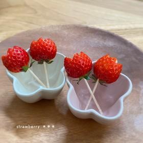 苺のチューリップ♡フルーツ♡