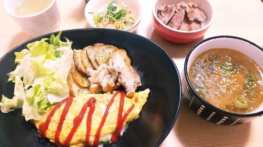 ヘルシーオムレツ☆今日の主人の夕食