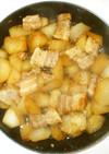 大根と豚バラ肉の煮物♪簡単