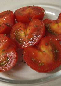 シンプル!トマトサラダ