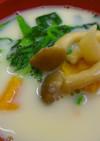 【病院】豆乳みそスープ【給食】