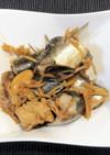 鰯の生姜煮