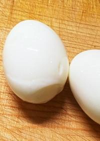 殻むきの失敗なし!ゆで卵の作り方