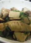 鶏手羽肉と焼き豆腐の煮物
