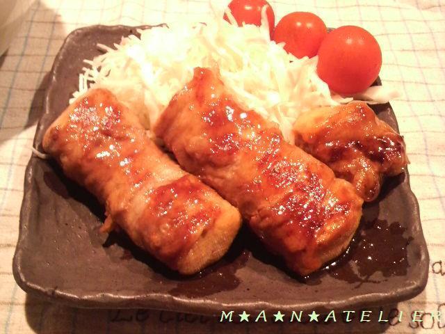 ヘルシー&ボリューム♪豆腐の豚肉巻き
