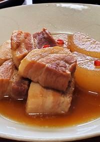 ほろり☆豚バラ大根のコトコト煮