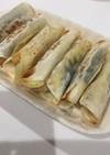簡単 餃子の皮と大葉チーズ