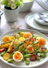 筍のソテーと春野菜のシンプルサラダ