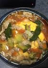 野菜たくさん天津飯