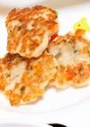 野菜と鳥ミンチのフワフワ豆腐バーグ